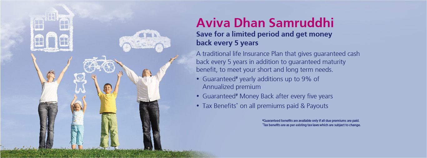 Aviva Dhan Samruddhi Saving Plan By Aviva India
