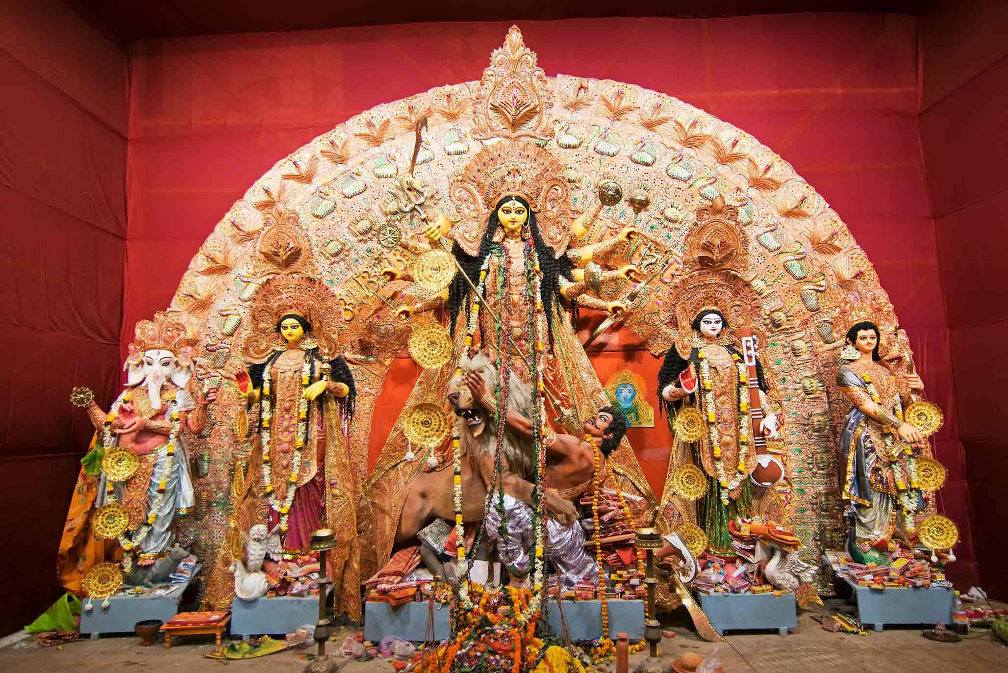 দুর্গা অষ্টমী: কল্পকথা ও তথয