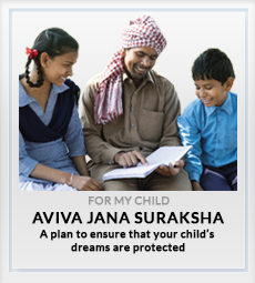 Aviva Jana Suraksha For My Child plan