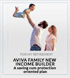 Aviva Family New Income Builder For My Child Plan