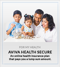 Online health insurance plan